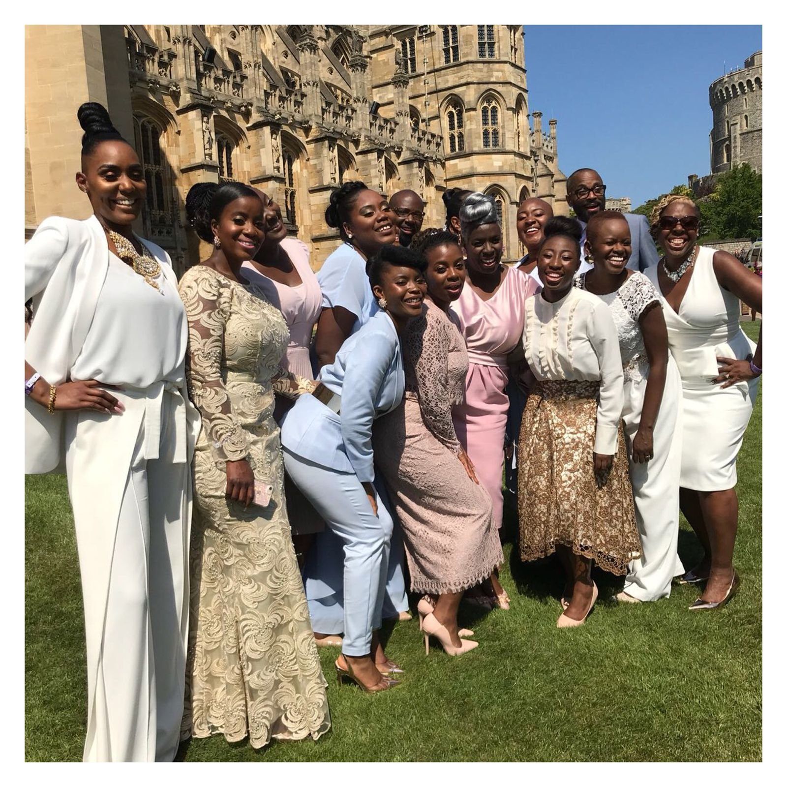 Gospel Choir At Royal Wedding.How The Kingdom Gospel Choir Made Royal Wedding History
