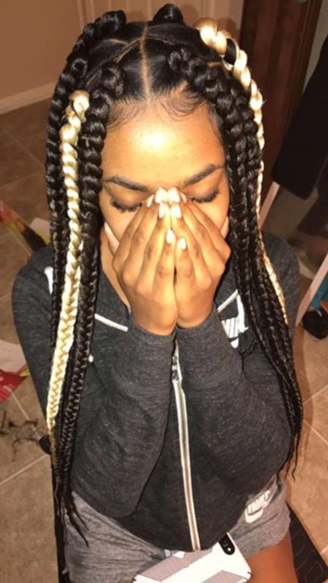 Pin By Shavaughn Lawson On Hair Styles Box Braids