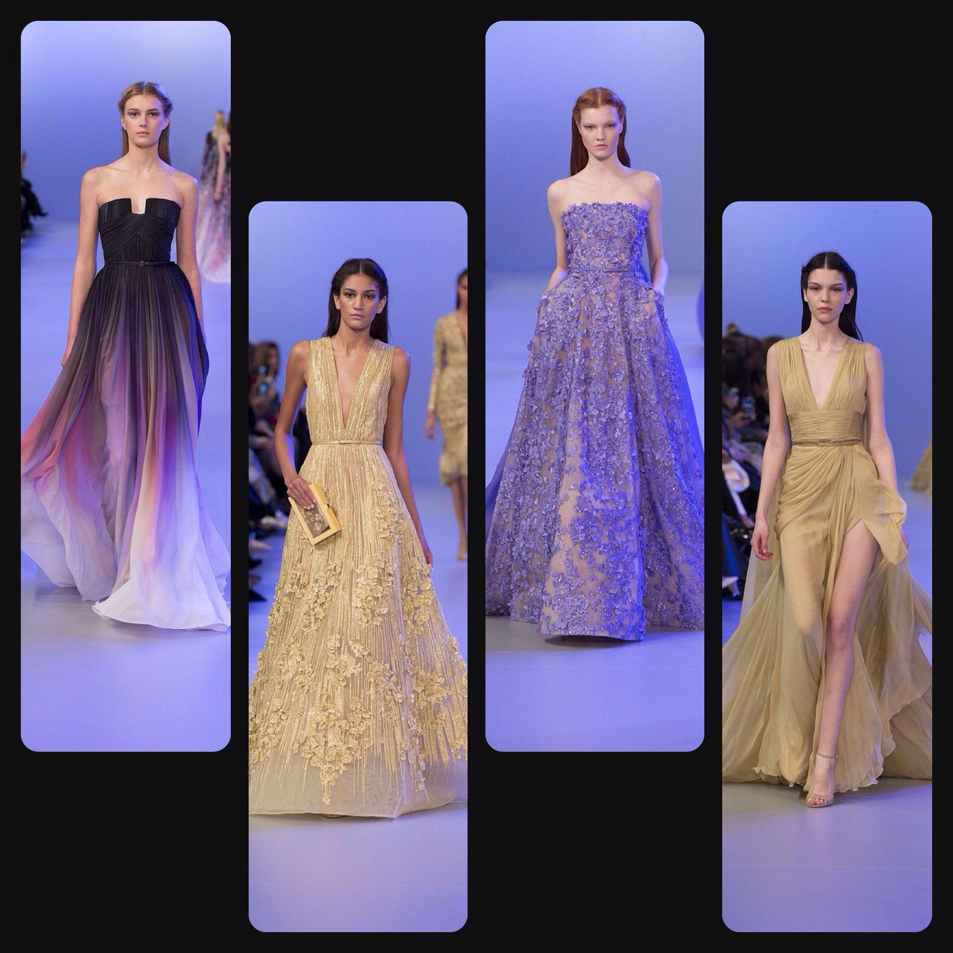 Sélection Elie Saab Haute Couture Printemps - été 2014