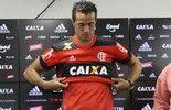 """Damião vê parceria com Guerrero, escolhe número """"1+8"""" e cita Obina"""