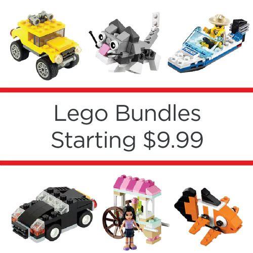 Lego Bundles : Starting at $9.99 + Free S/H (reg. up to $47.95)  http://www.mybargainbuddy.com/lego-bundles-starting-at-9-99-free-sh