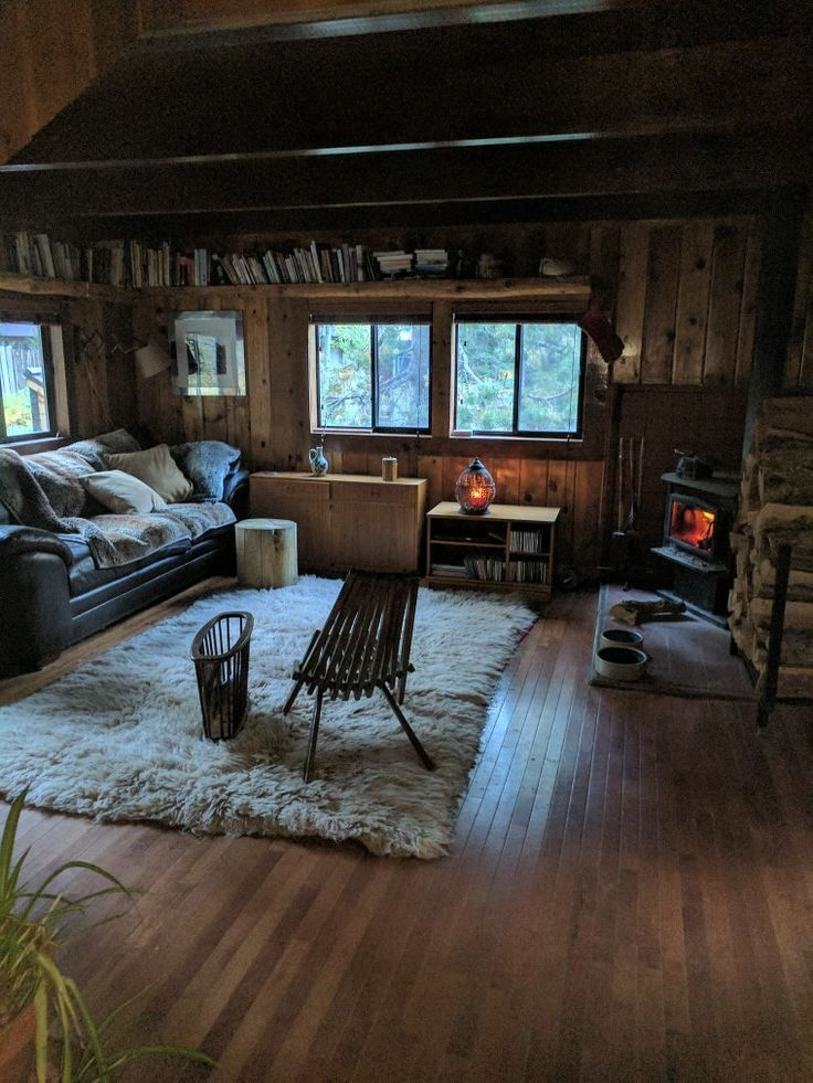 Home Decorating Ideas Cozy Small But Cozy Cabin In The Woods