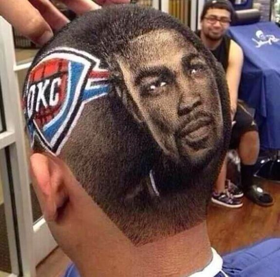 Best Kevin Durant Tribute Haircut Ever