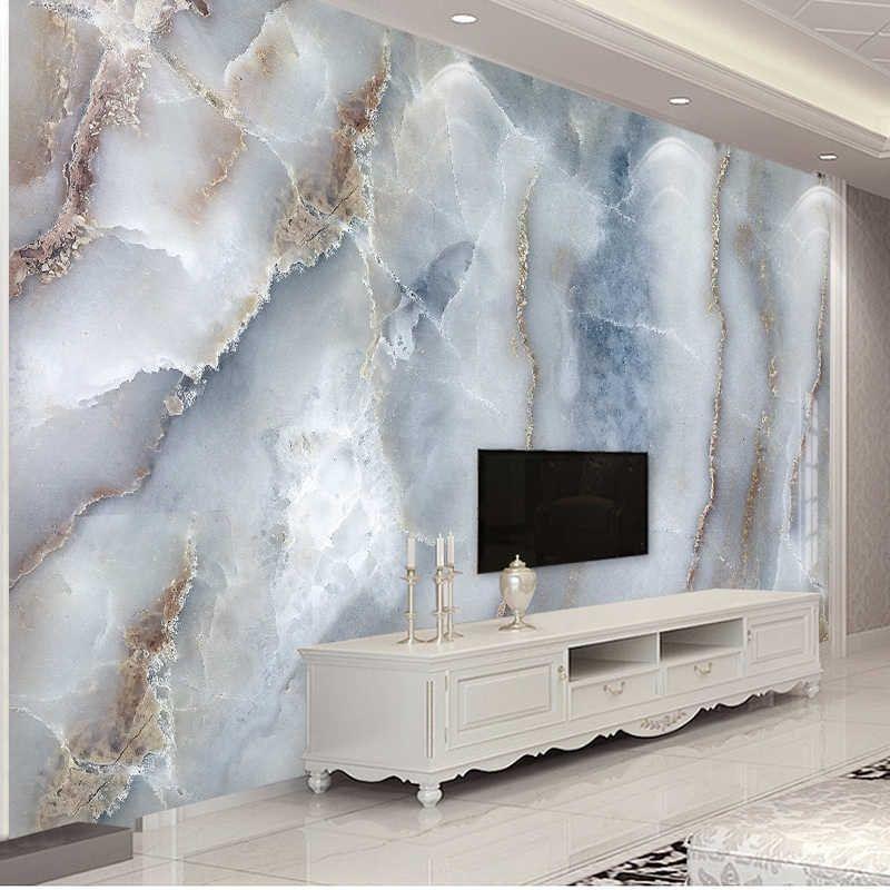 Custom Any Size Abstract Marble Stone Wall Cloth L
