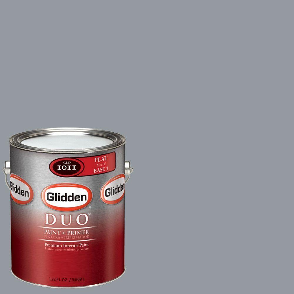 Glidden Smoky Charcoal glidden duo   products   aqua paint colors, interior paint
