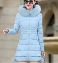 Faux Fur Women Down Jacket