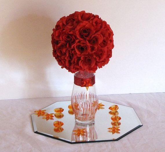 7d wedding centerpiece silk flower kissing ball by decorations12 7d wedding centerpiece silk flower kissing ball by decorations12 1999 mightylinksfo