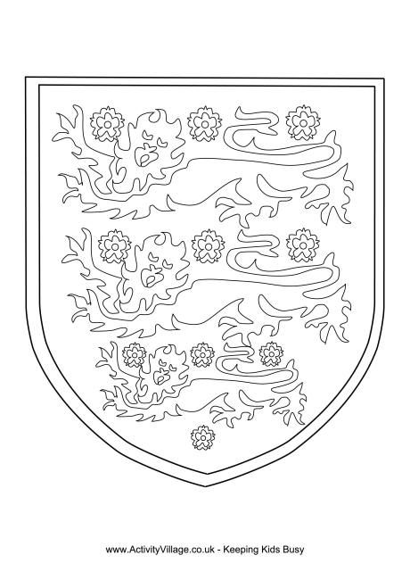 Three Lions Colouring Page Coloriage Chateau Coloriage