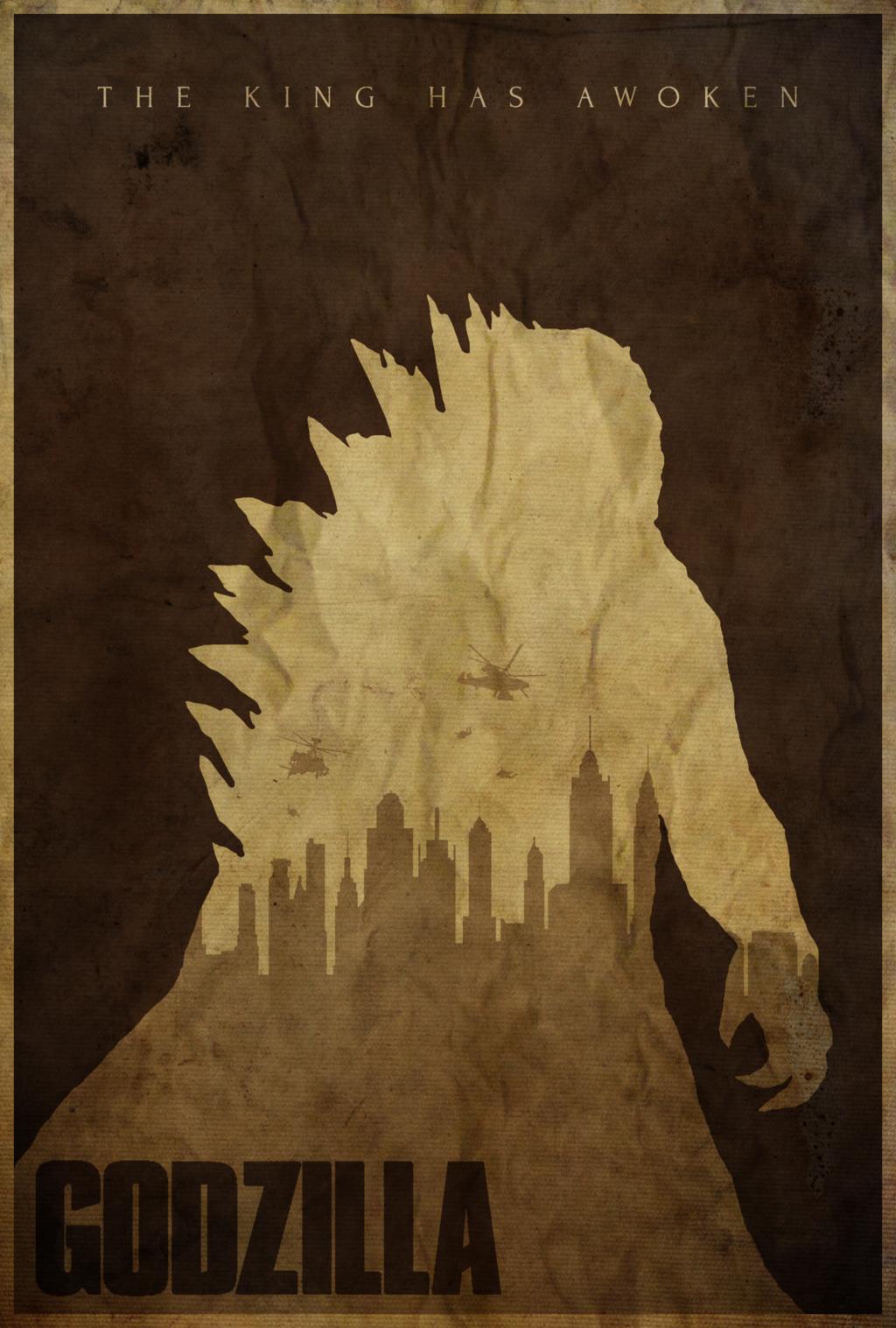 He S Coming Godzilla 2014 Poster By Edwin Julian Moran Ii Godzilla Godzilla 2014 Godzilla Wallpaper