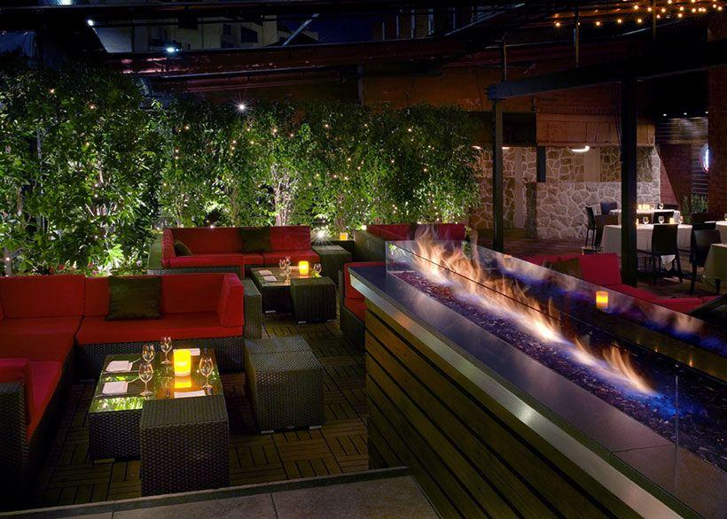 Cache Restaurant- fire pit - Cache Restaurant- Fire Pit Garden Lounge Pinterest