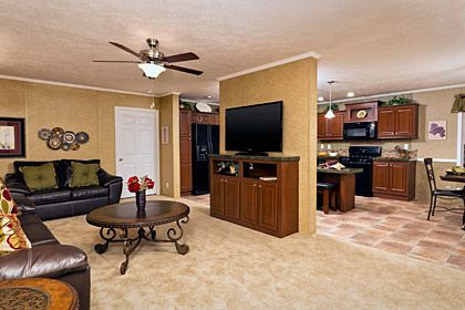 Front Kitchen Mobile Home Plans