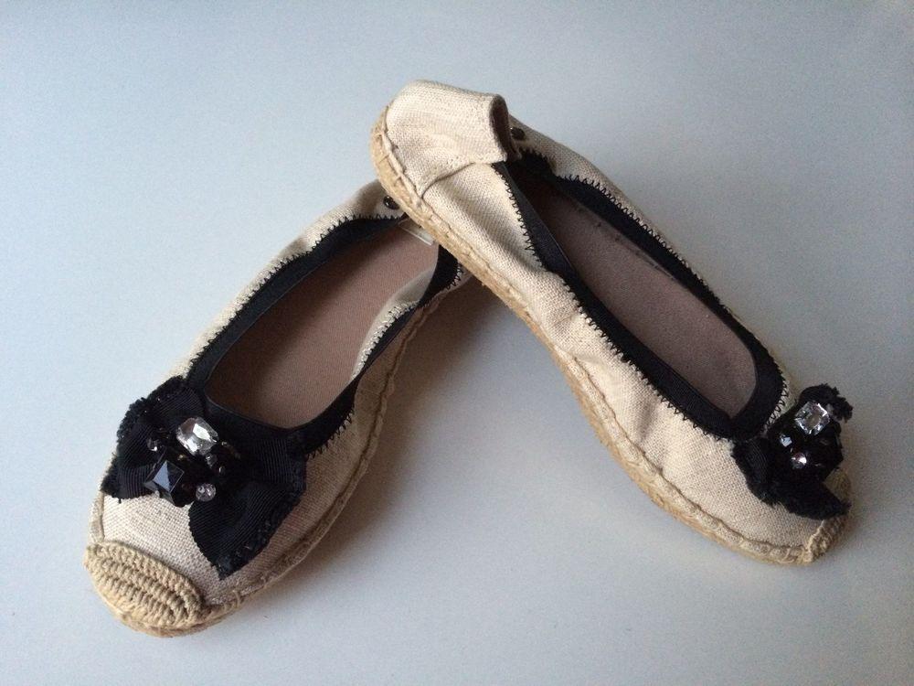 a57a8316755 Simply Vera Vera Wang Women's Size 7 Ethel Espadrille Flats Shoes ...