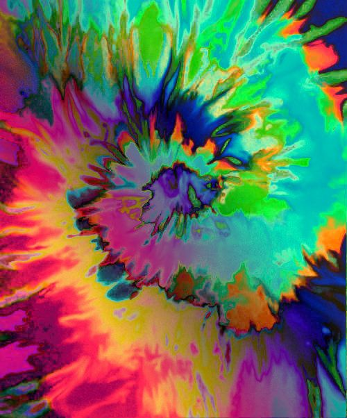 trippy tie dye background - photo #24