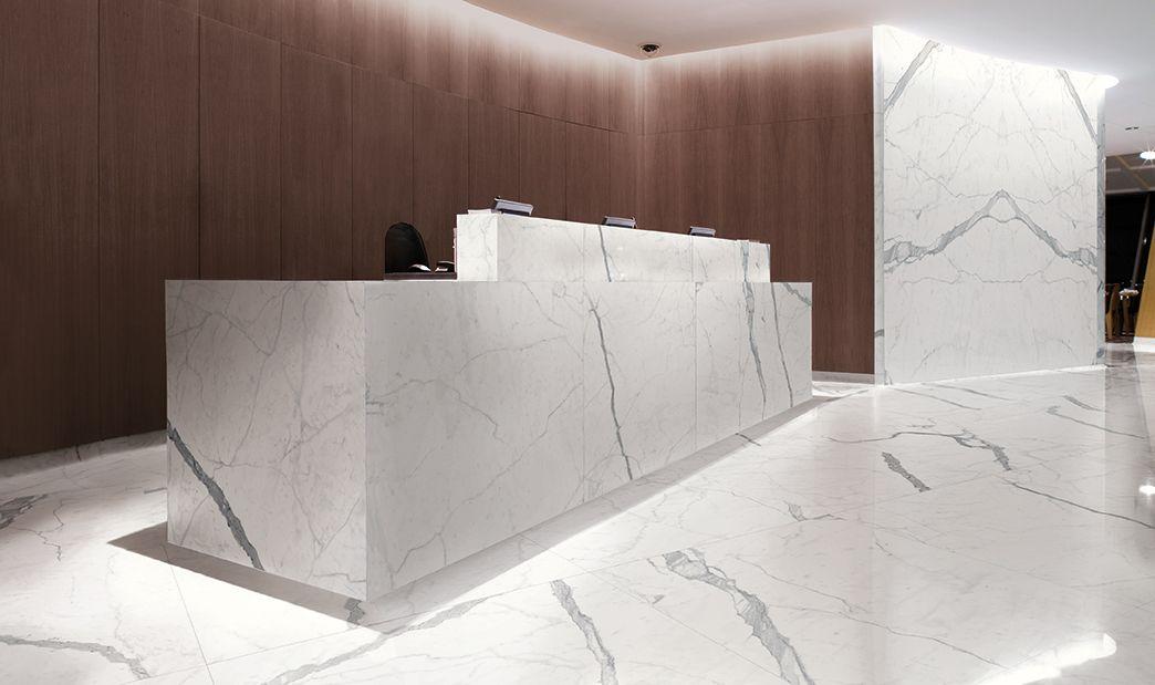Porcelain Statuario Slab And Tiles 6mm Thin 120 X 60 Suitable