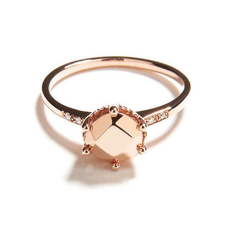 Hazeline 14kt gold ring Anna Sheffield S6J4NhQn
