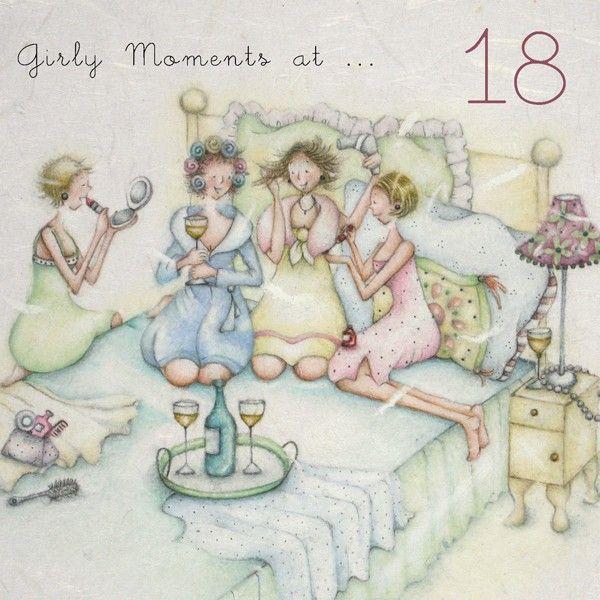 Cards » Girly Moments at 18 » Girly Moments at 18 - Berni Parker Designs