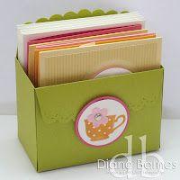 Wide Scallop Box