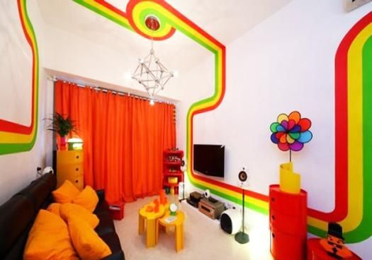 25 Bright Interior Design Ideas And Colorful Inspirations For Home Decorating Rainbow House Bright Room Colors Kids Room Design