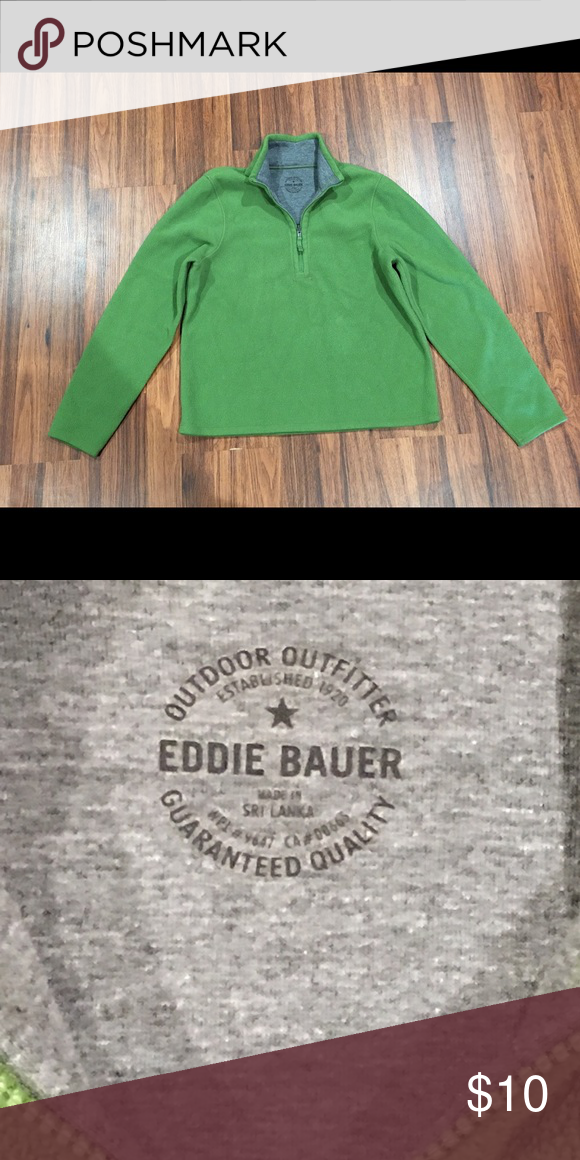 Ed Bauer Green Kids Pullover Gently Used Excellent Condition Size S M Shirts Tops Sweatshirts Hoos