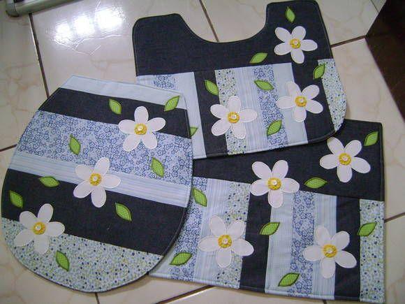 Amado artesanato em tecido para banheiro passo a passo - Pesquisa Google  EU22