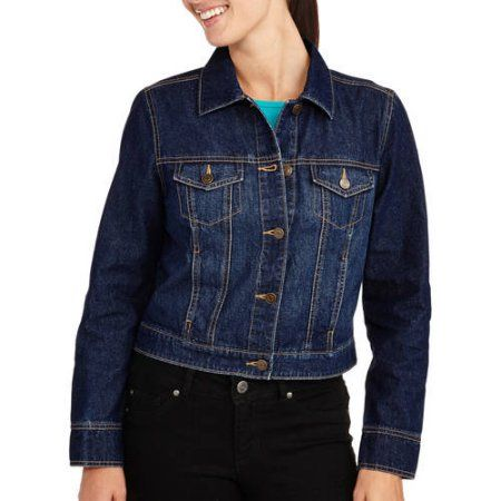 a34e0ffe81 Faded Glory Women s Classic Denim Jacket