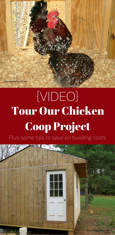 video tour our chicken coop u0026 money saving tips diy chicken