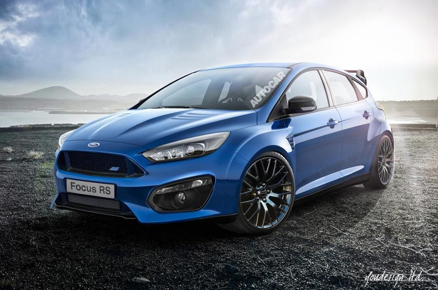 the mk1 focus rs had 212bhp and the mk2 had 301bhp. description from
