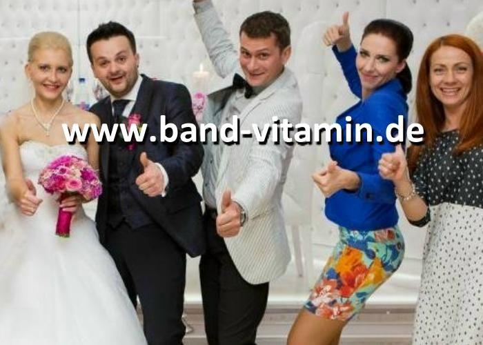 Band-Vitamin Hochzeitsband für den ganz besonderen Tag aus