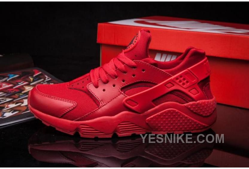 19d94712aaeca Nike Air Huarache Hyper Punch ALL Red Hot Red All Red Nike Shoes
