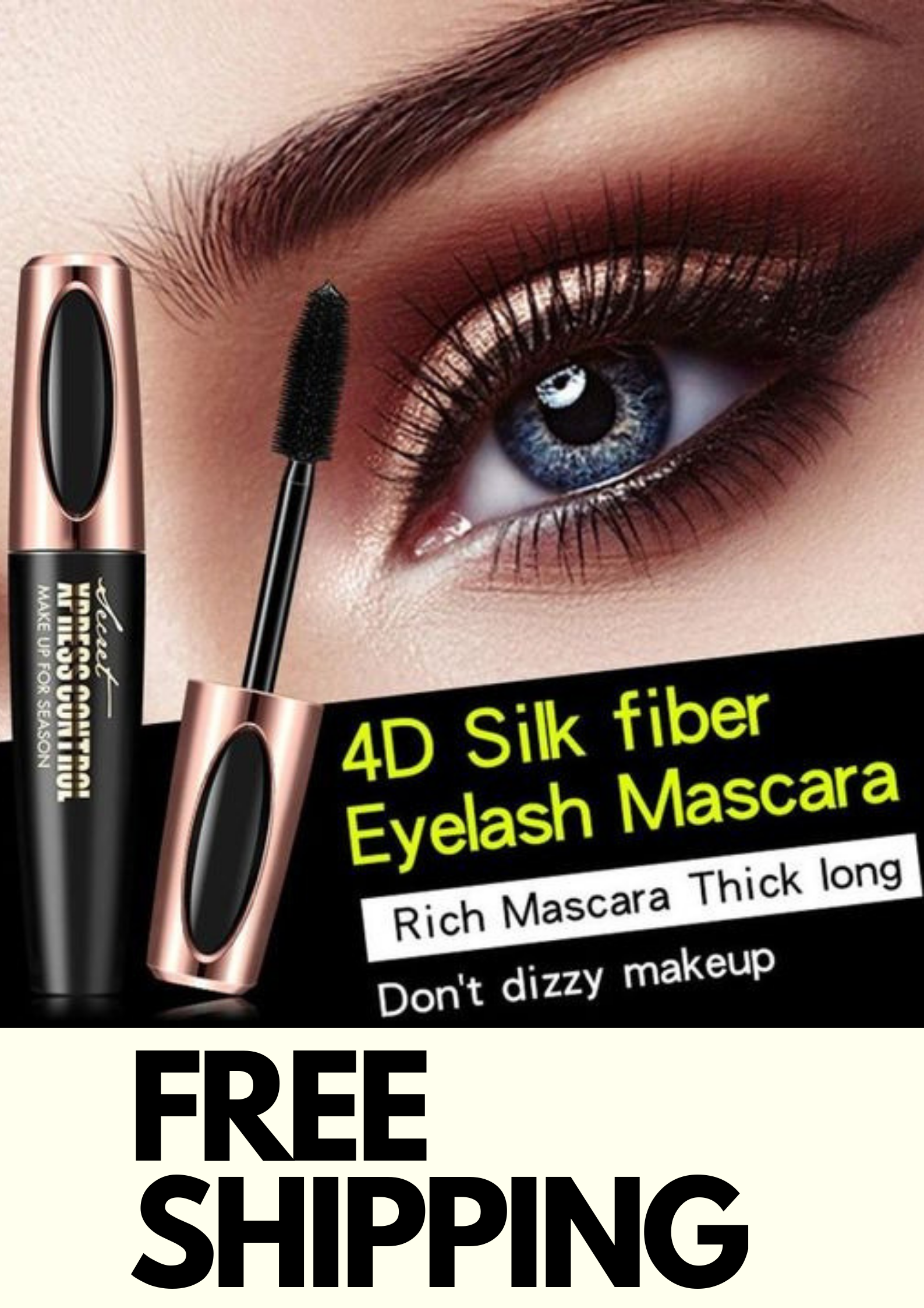 8b65309fe84 Mybeautyus 4D Silk Fiber Eyelash Mascara Extension Time To Say Goodbye To  Stubby Lashes And Hello
