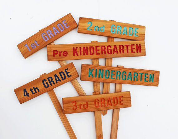 Childrens School Garden Signs School Garden By Thecommonsign 9 00 This Would Be Perfect For Our Outdoor Classroom Each Grade Would Be Responsible For A