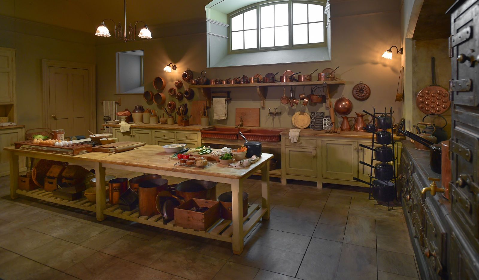 """Inside The Incredible """"downton Abbey"""" Exhibit That Is Touring The Amazing Downton Abbey Kitchen Design Design Inspiration"""