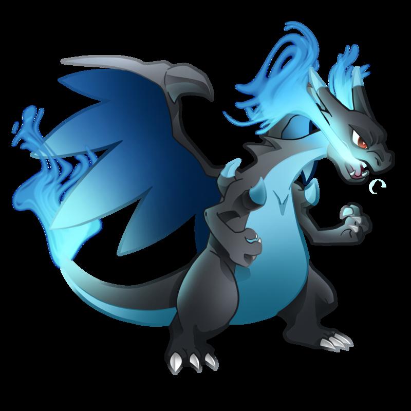 Pokemon 006m1 Mega Charizard X By Illustrationoverdose On Deviantart Pokemon Charizard Png