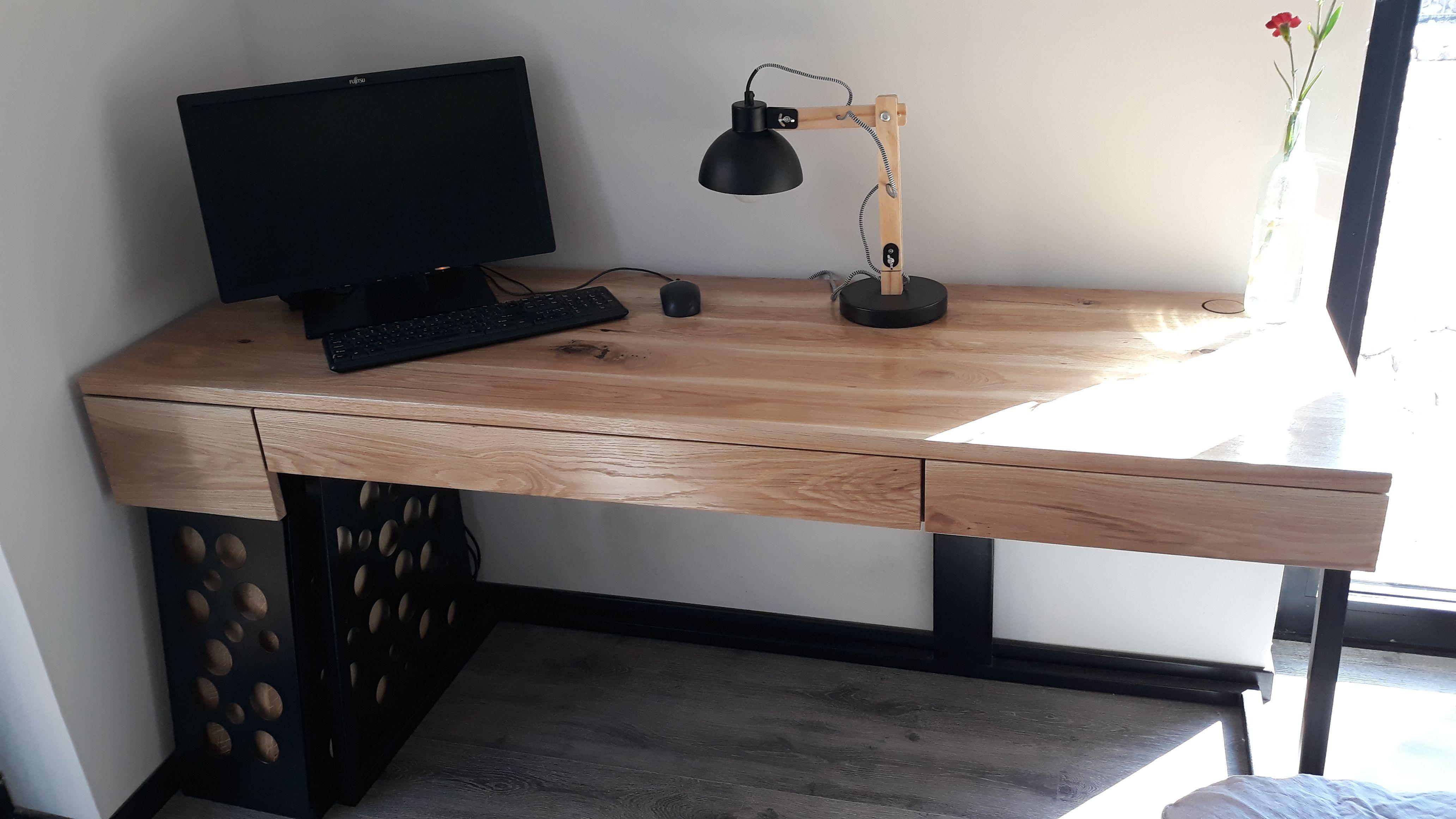 Biurko Zabudowa Komputera Forma Minimal Minimalism Industrialdesign Naturalwooddesk Home Decor Corner Desk Work Room
