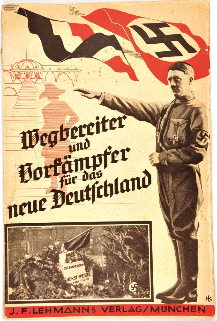"German WW2 ""Wegbereiter and Borfampfer for the new Germany"""