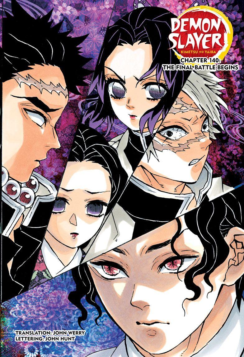 Demon Slayer Kimetsu no Yaiba Chapter 140【2020】 お絵かき, かわいい