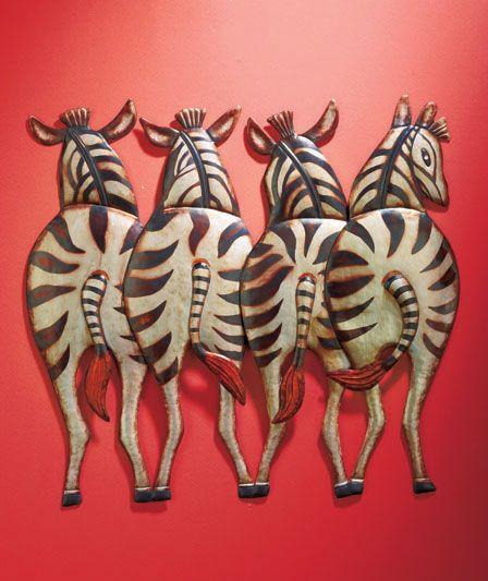 safari metal wall art the lakeside collection under kitchen
