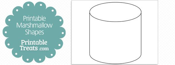 picture about Printable Marshmallow Template named absolutely free-printable-marshmallow-form-template Sunday Faculty