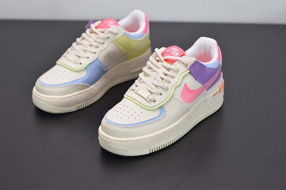 Nike Air Force 1 Shadow Sail Pink Purple in 2020 | Schoenen