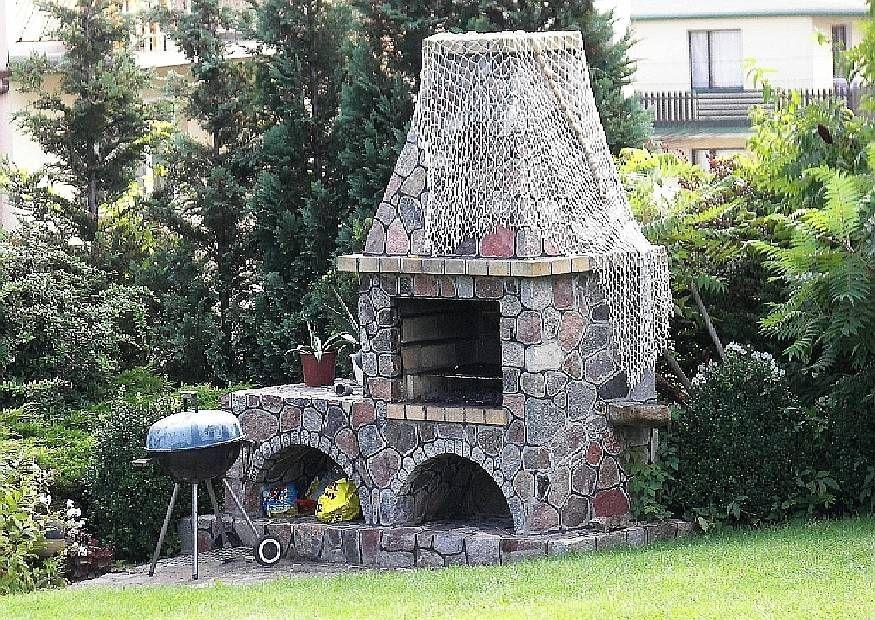 Gartengestaltung Grillecke Gemauerter Grill Garten Pinterest