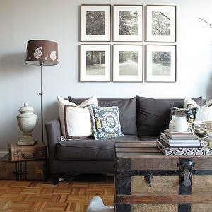 Grey Sofa Trunk Table Design 59 Living Rooms Parquet Wood Floor Parquet Floor Open Flo Living Room Grey Living Room Sofa Transitional Living Room Design