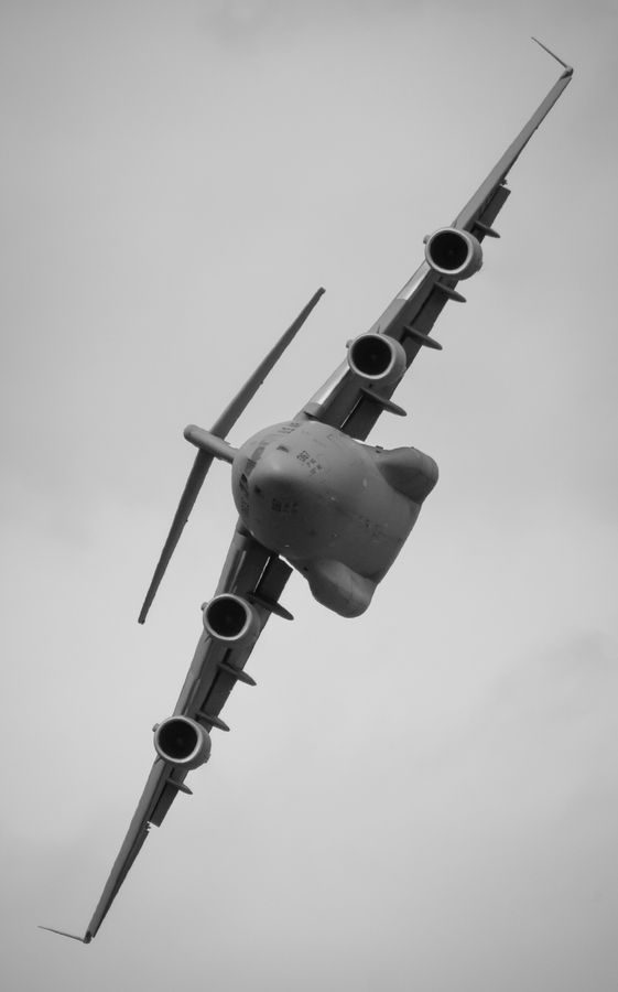 USAF c-17 globemaster - flown in one of these for a VERY LONG time!