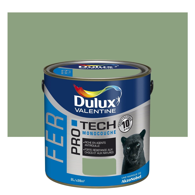 Peinture Fer Extérieur Protech Dulux Valentine Vert