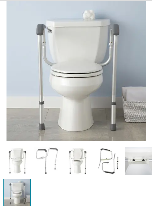 Prime Medline Adjustable Toilet Safety Rails In 2019 Resource Ibusinesslaw Wood Chair Design Ideas Ibusinesslaworg