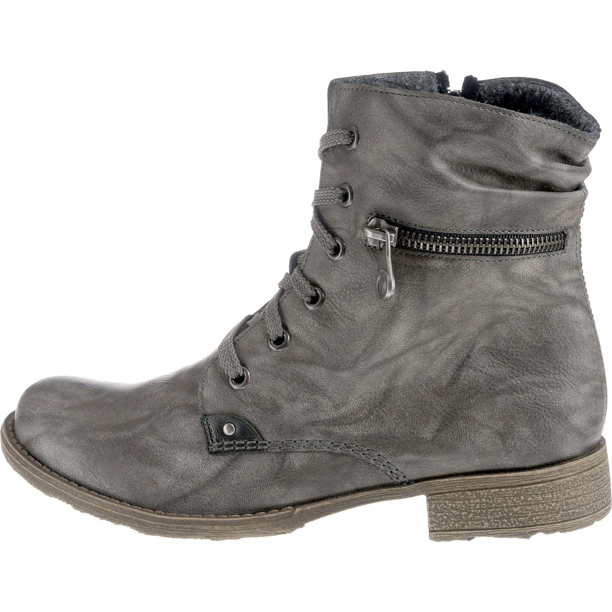 RIEKER SANDY Stiefelette Stiefel Boots Cognac Braun Futter