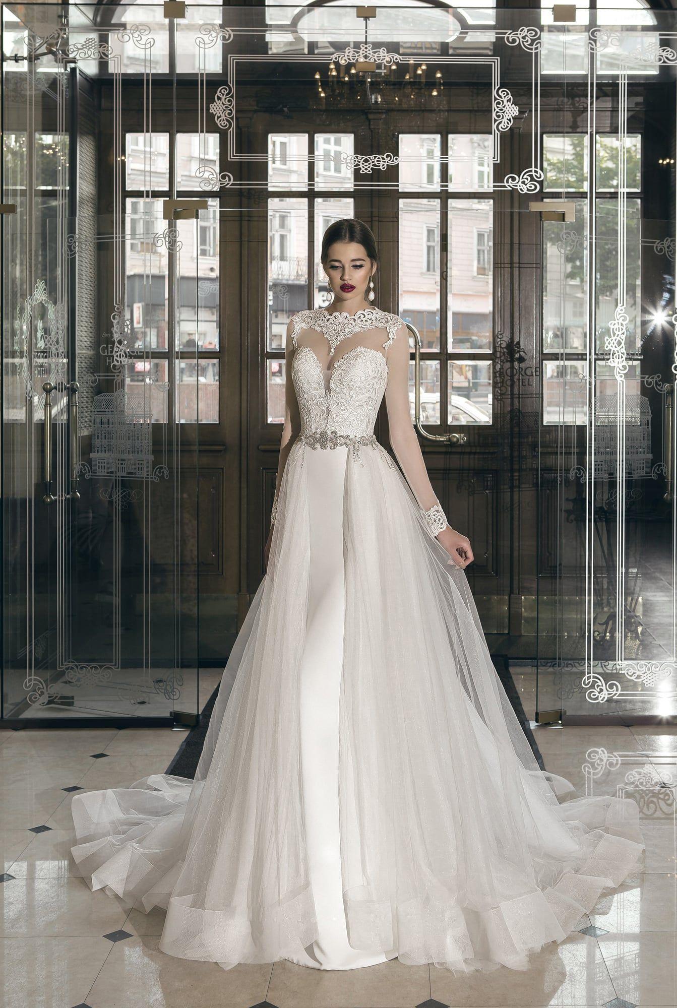 15412bd444a Свадебное платье 5416a ▷ Свадебный Торговый Центр Вега в Москве ...