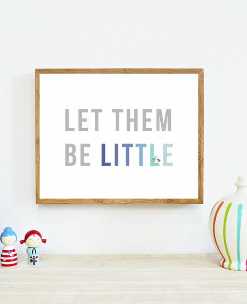 Let Them Be Little in Blue