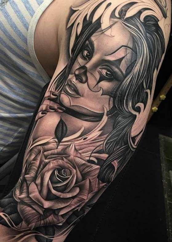 Pin de Edwin Martinez en Clown girl Pinterest Gaby Tatuajes y