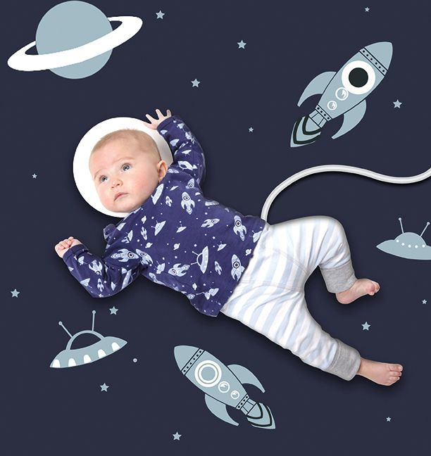 Outer Space Inspired Baby Outfits With Adorable Space Baby Clothes Space Baby Monthly Baby Pictures Monthly Baby Photos