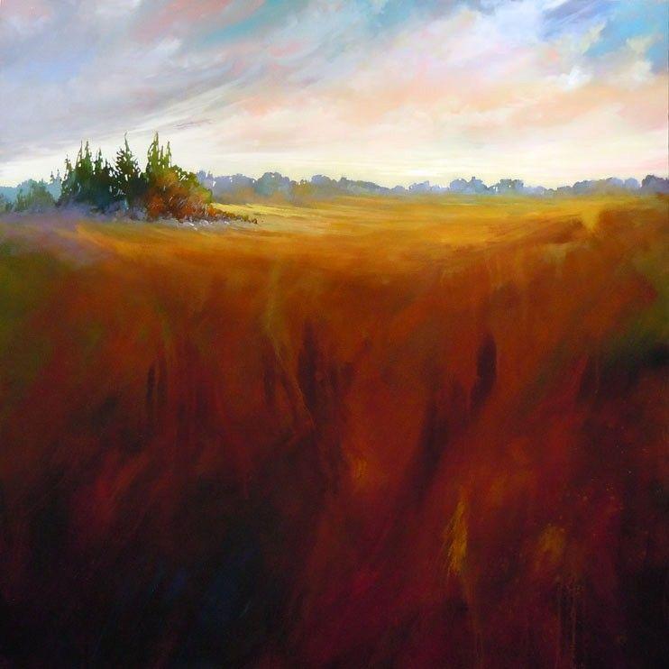 Wild XIV By Sharon Fox-Cranston, Acrylic On Canvas